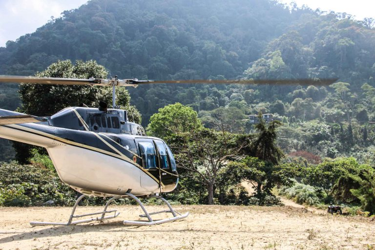 Helicopter Tour in Sierra Nevada de Santa Marta, Colombia